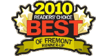 2010 readers choice best of fremont runner-up